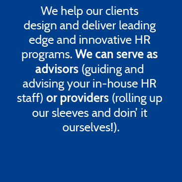 Advisors or providers