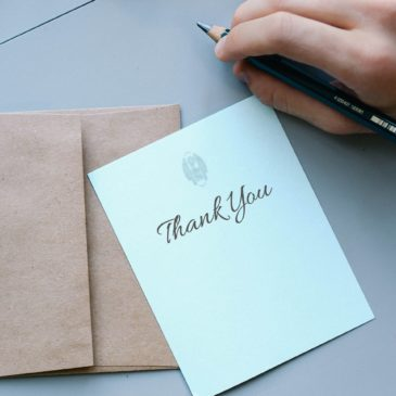 Thank-you notes matter